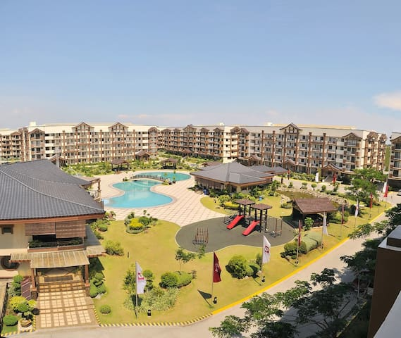 Aerial View of Resort Style Rosewood Complex