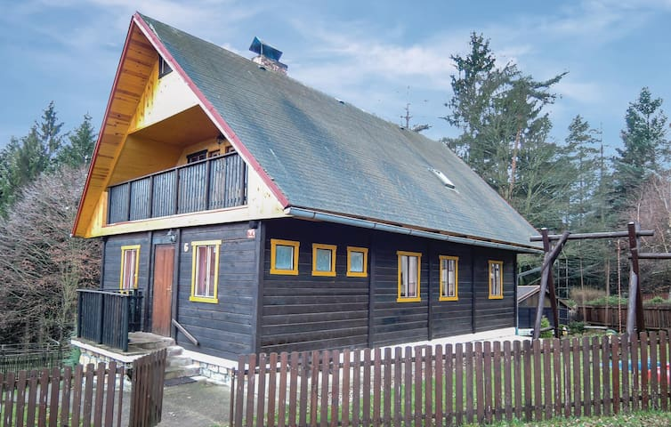 Holiday cottage with 4 bedrooms on 107m² in Jetrichovice