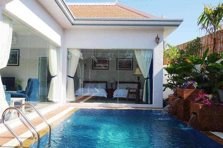 Landmark Private Pool Villa I (Free Pickup Tuktuk)