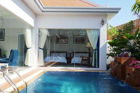 Landmark Private Pool Villa I (Free Pickup Tuktuk)