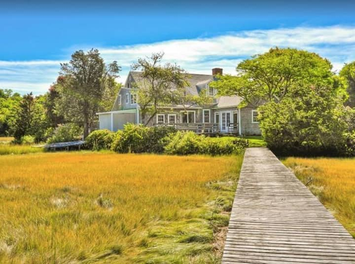 Home with Private Dock in West Falmouth