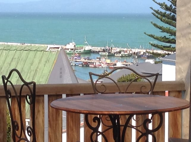 Kalk Bay with pool and Sea View