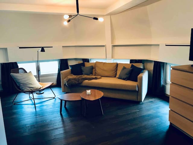 Neues Luxus Loft-Studio 40m ² 5.3.