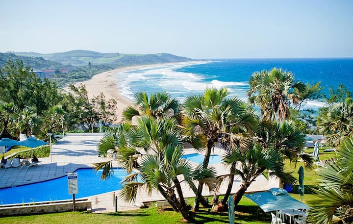 Holiday Hotel Apartment with Panoramic Beach View