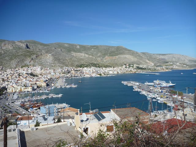 Kalymnos, Pothia! Fun and more - the best location - Kalimnos - Huis