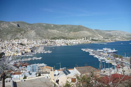 Kalymnos, Pothia! Fun and more - the best location - Kalimnos - Hus