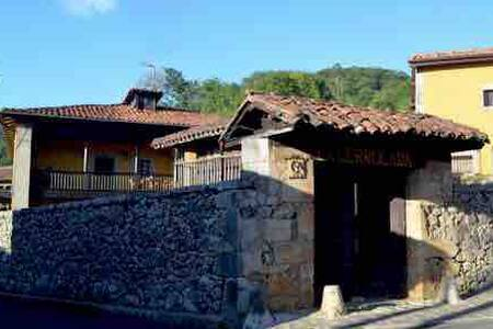 DOUBLE ROOM IN VILLAGE HOUSE. CANGAS DE ONIS