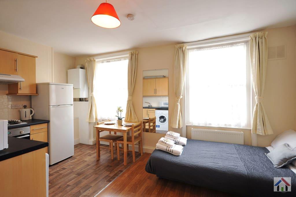 Cosy appartement d 39 une chambre kings cross appartements louer londres angleterre royaume uni - Chambre a louer a londres ...