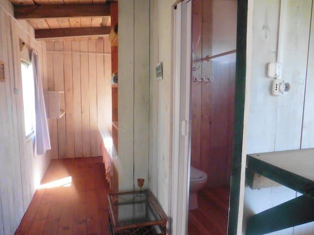Cabaña Eguzkia en Arachania...cerca de la Pedrera. - La Paloma - Cabin