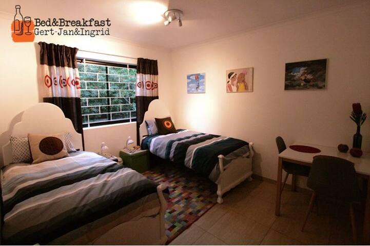 Welcome to Gert-Jan & Ingrid's place Stellenbosch