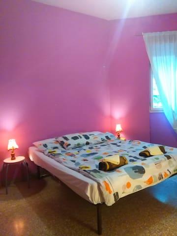 Camera privata per due persone in appartamento - Roma - Condominio