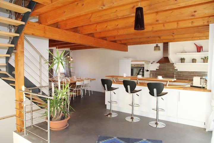 Appartement familial à la campagne - Wilwisheim - Appartement