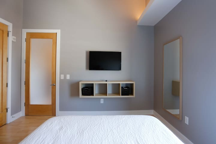 Downtown Executive Suite with Skyline Views