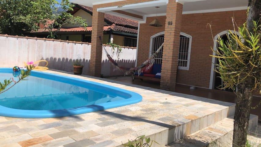 Alugo Casa na Praia do Sapé/Ubatuba