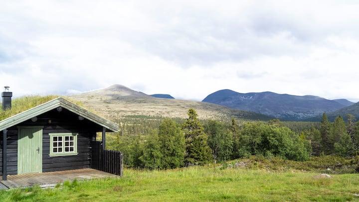Hytte på seter i fjellet, Rendalen