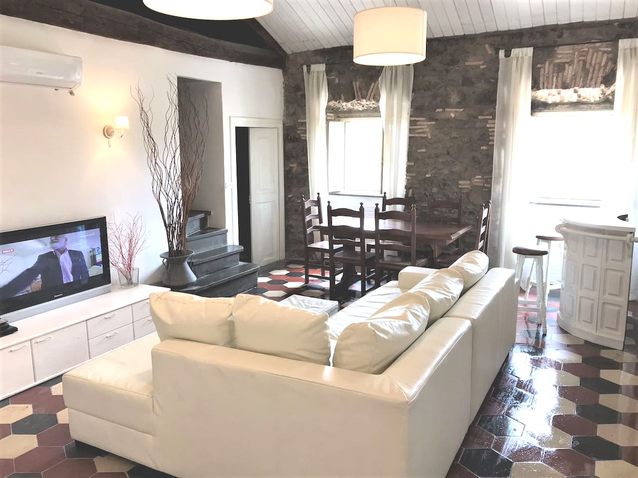 living room with luxury relax sofa