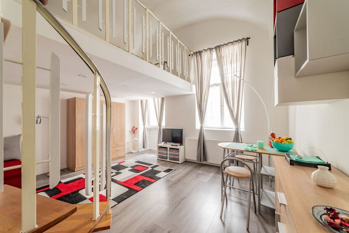 Big Alex Studio Apartment Budapest