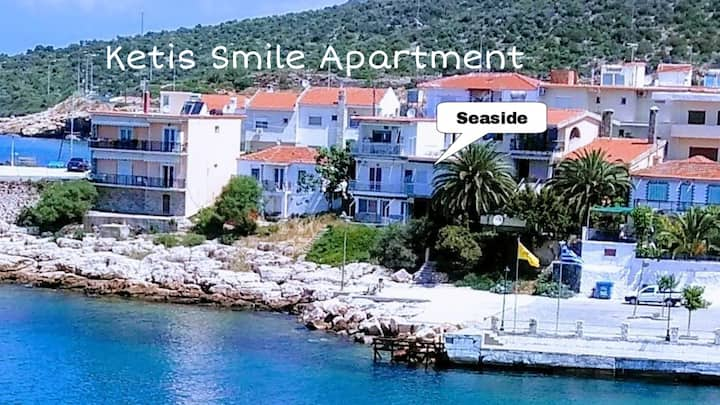 Ketis smile apartment, Beachfront
