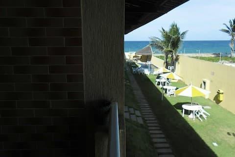 APTO DUPLEX beira mar praia Búzios / RN