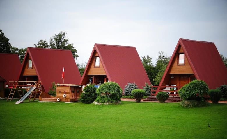Holiday house surrounded by nature, ideal place for the whole family