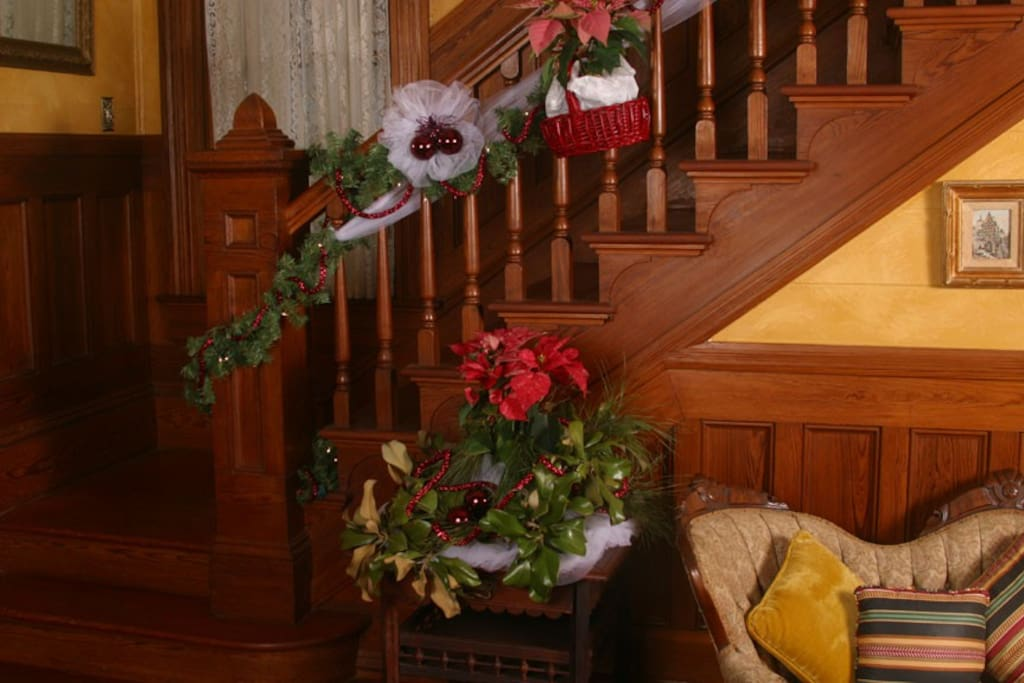 The Minden Room is at the top of the stairs.