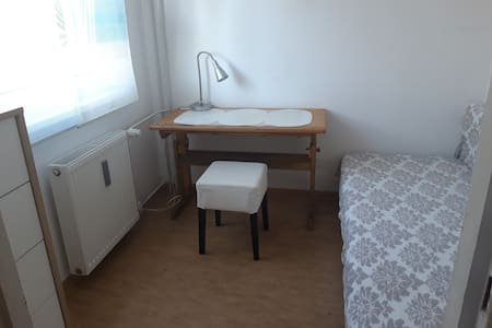 tiny room with sleeping couch - single night stay