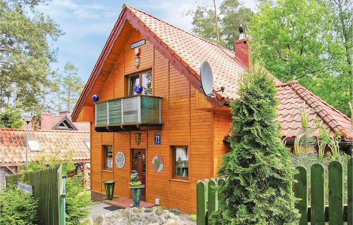Holiday cottage with 3 bedrooms on 115m² in Grunwald