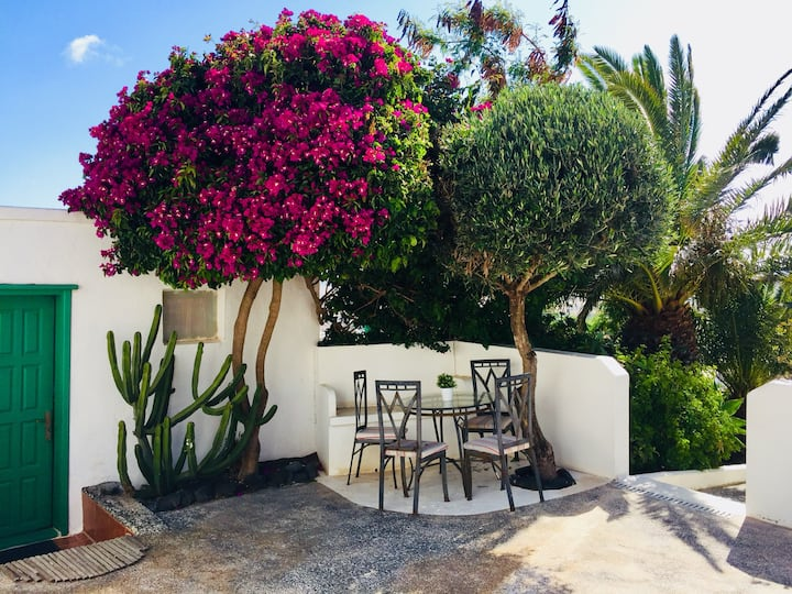 Studio mit Terrasse, Oasis de Nazaret