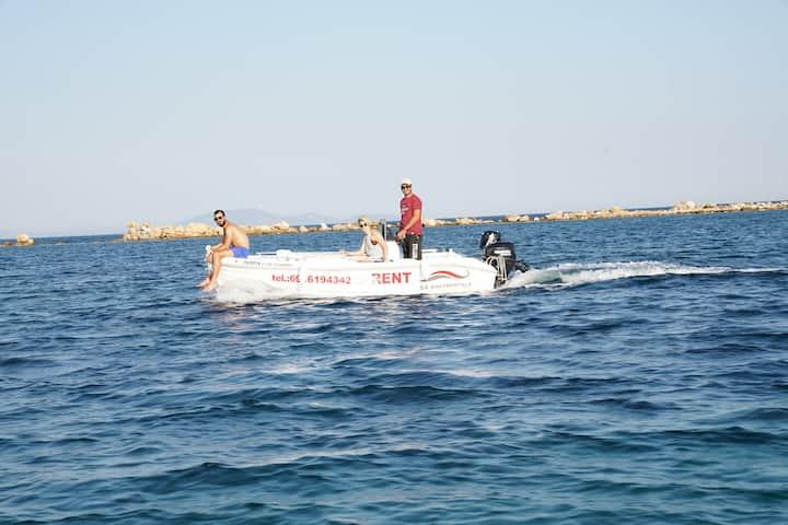 Rent a boat , Nea Makri Athens