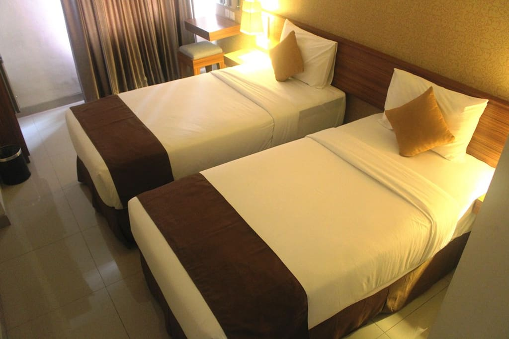 22 Squaremeters Twin Bedroom