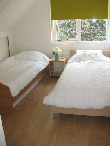 Bedroom with private bathroom - Oosterhout - 家庭式旅館