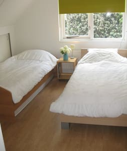 Bedroom with private bathroom - Oosterhout - Bed & Breakfast