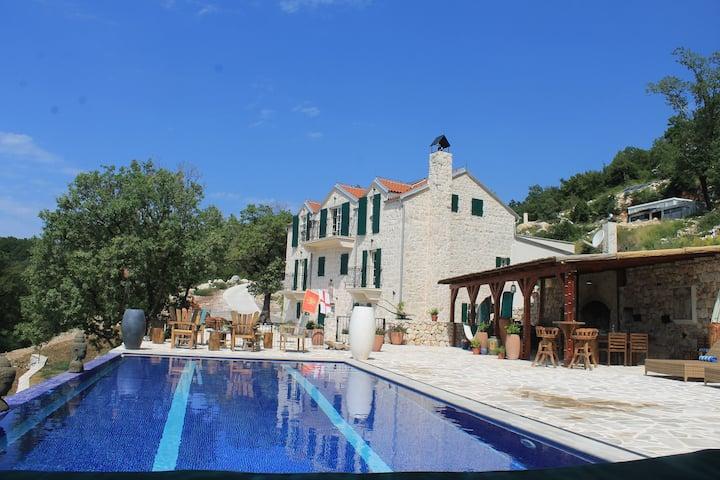 Luxury 6 bedroom Villa Mona Lisa, Adriatic Coast