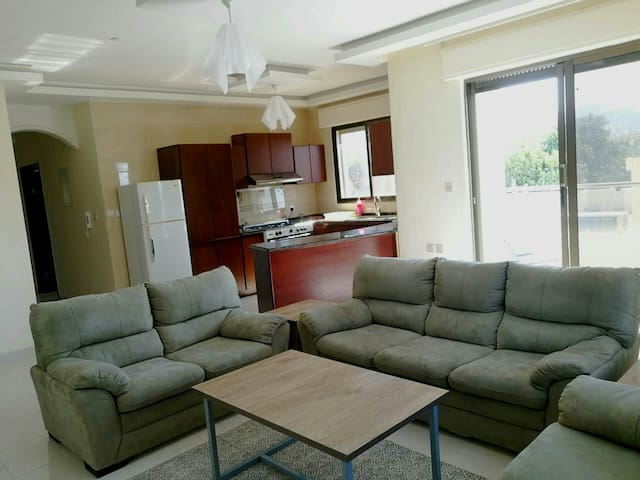 Apartment 10 min walk from downtown great location