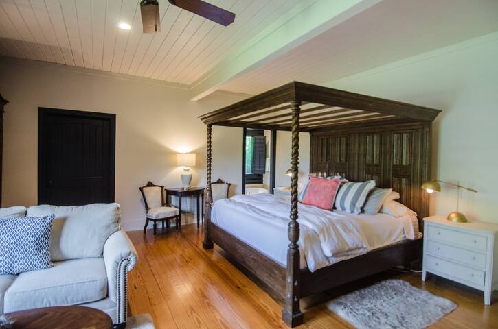 Master Bedroom retreat on the main level - includes 1 King bed
