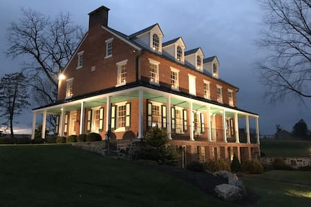 Luxurious and Historic Farm Property on 200 acres