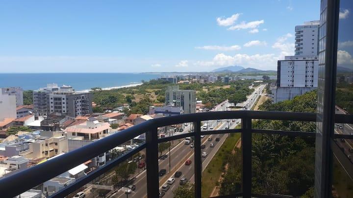 Apartamento com bela vista para o mar