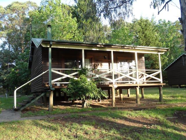 Farmstay Cedar Wood Spa Cabin