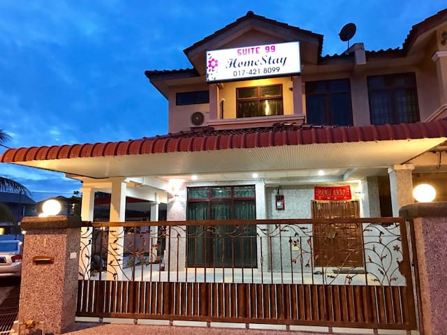 Suite 99 Homestay Alor Star 4R4B, 5 Parking Space