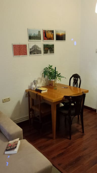 dining table, can be extended