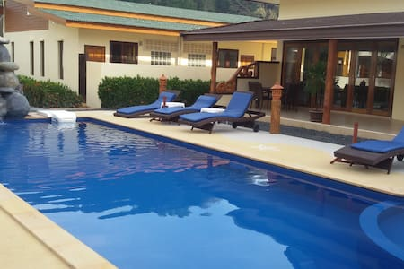 Villa 2 bedroom with  pool and private jacuzzi - Ao Nang - 独立屋