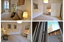 Some Details of one Room with view on the Palazzo Pretorio and Museum!