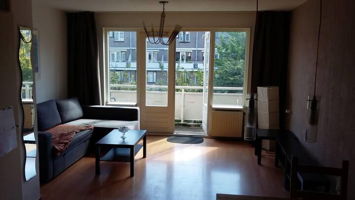 Gezellige appartement in Haarlem
