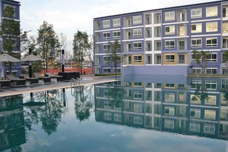 Appartement 30 qm nahe ASIATIQUE - Bangkok