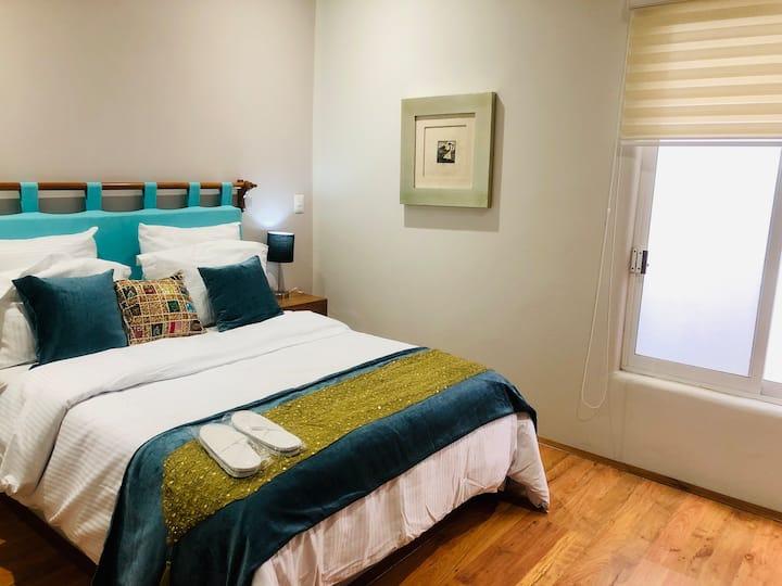 """Casa Bvella Puerto Escondido, habitación """"Sirena"""""""