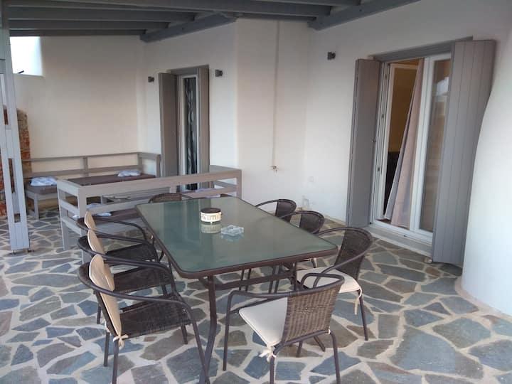 M. Vigla Naxos beachfront  villas/4 bedrooms