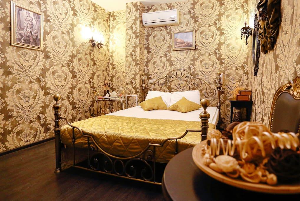 Двухместный номер Palazzo Ducale бутик-отеля Венеция