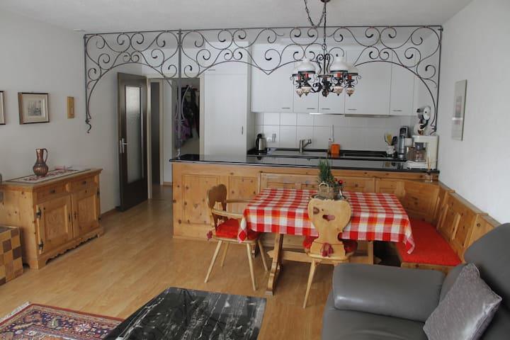 Apartment with indoor swimming pool-sauna-tennis