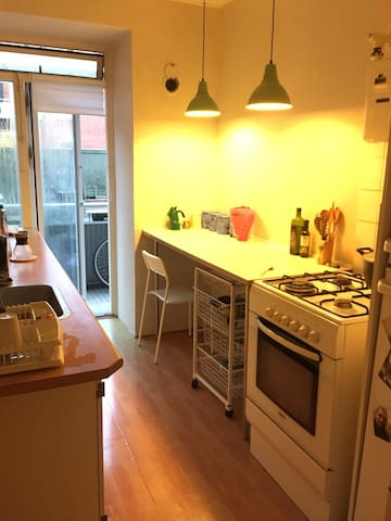 Large equity kitchen