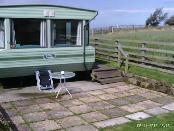 Spring Farm holiday caravan